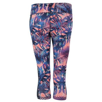 spodnie sportowe damskie 3/4 REEBOK YOGA PRINT CAPRI / B83934