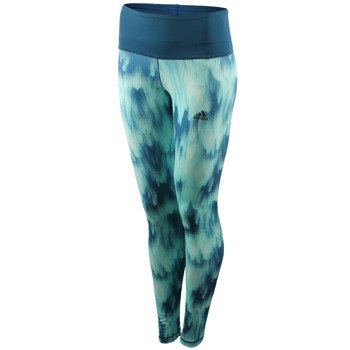 spodnie sportowe damskie ADIDAS HIGH-RISE LONG TIGHT ALLOVER PRINTED / AY6179