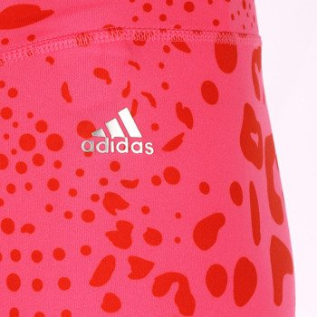 spodnie sportowe damskie ADIDAS ULTIMATE FIT PANT 3/4 TIGHT ALL OVER PRINTED / M68789