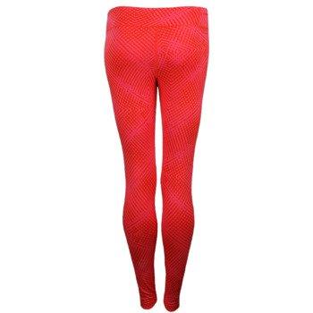 spodnie sportowe damskie ADIDAS ULTIMATE FIT PANT TIGHT ALL OVER PRINTED / M68792