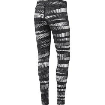 spodnie sportowe damskie ADIDAS WORKOUT PANT ALLOVERPRINTED TIGHT / D89549