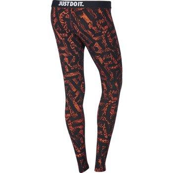 spodnie sportowe damskie NIKE LEG-A-SEE ALLOVER PRINTED / 678836-843