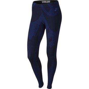 spodnie sportowe damskie NIKE LEG-A-SEE ALLOVER PRINTED / 726091-455