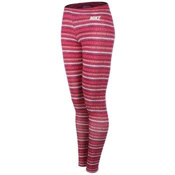spodnie sportowe damskie NIKE LEG A SEE AOP / 616052-610