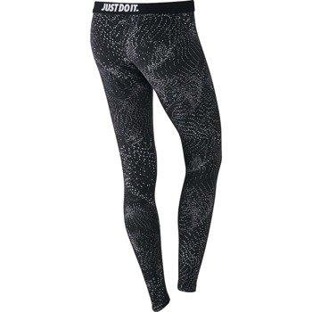 spodnie sportowe damskie NIKE LEG-A-SEE LEGGING ALLOVER PRINTED / 804049-010