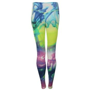spodnie sportowe damskie NIKE LEGENDARY LAVA TIGHT / 689848-702