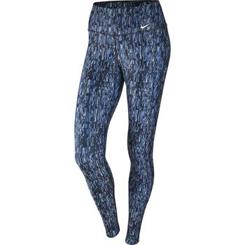 spodnie sportowe damskie NIKE POWER TRAINING  TIGHT POLY SCREEN FUZZ / 802907-425