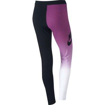 spodnie sportowe damskie NIKE PRINTED LEGGING / 653963-100