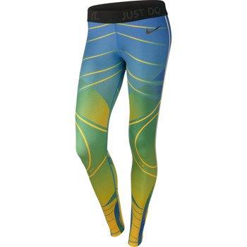 spodnie sportowe damskie NIKE PRO BRAZIL TIGHT / 649632-703