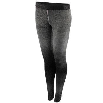 spodnie sportowe damskie REEBOK OMBRE TIGHT / AY1835
