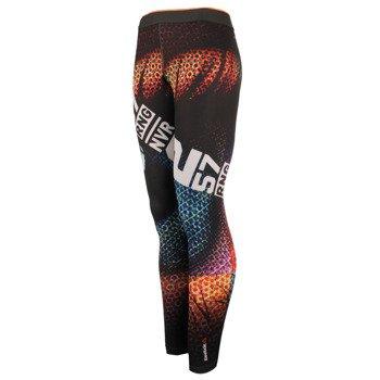 spodnie sportowe damskie REEBOK ONE SERIES RETINA TIGHT / AI1612