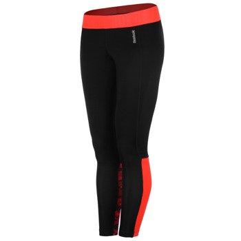spodnie sportowe damskie REEBOK WORKOUT READY POLY TIGHT / AA4586