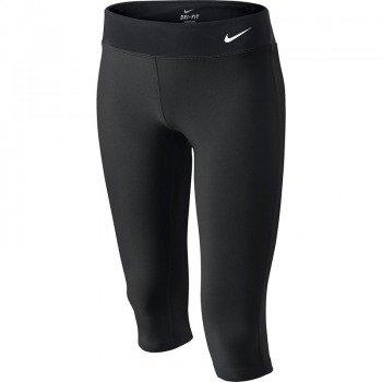 spodnie sportowe dziewczęce NIKE YOUNG ATHLETES LEGEND TIGHT CAPRI / 522087-010