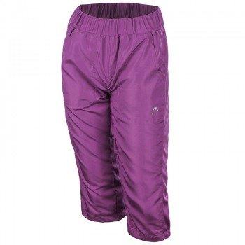 spodnie tenisowe damskie HEAD CLUB CAPRI / 814211-VI
