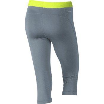 spodnie termoaktywne damskie 3/4 NIKE PRO CAPRI / 589366-494