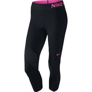 spodnie termoaktywne damskie 3/4 NIKE PRO HYPERCOOL CAPRI / 725614-011