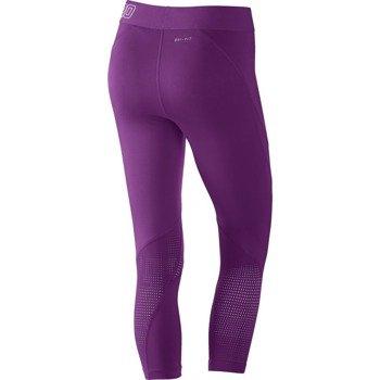 spodnie termoaktywne damskie 3/4 NIKE PRO HYPERCOOL CAPRI / 725614-556