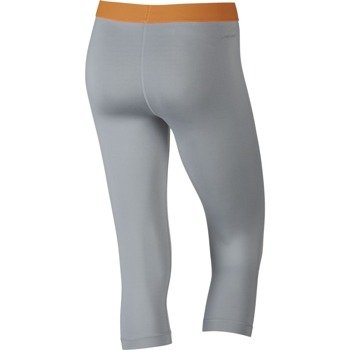 spodnie termoaktywne damskie 3/4 NIKE PRO LOGO CAPRI / 683553-012