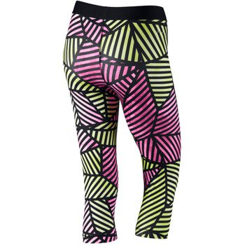spodnie termoaktywne damskie 3/4 NIKE PRO WEB CAPRI / 658365-612
