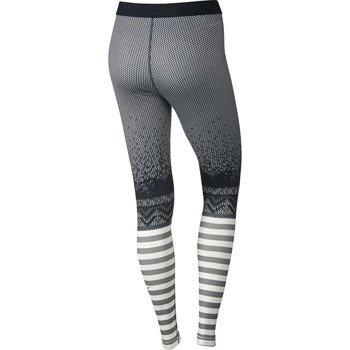 spodnie termoaktywne damskie NIKE PRO HYPERWARM ENGINEERED PRINT / 622289-010