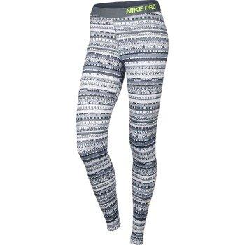 spodnie termoaktywne damskie NIKE PRO WARM 8 BIT TIGHT / 683717-065