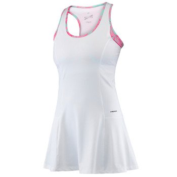 sukienka tenisowa damska HEAD VISION BELLA DRESS / 814236 WH