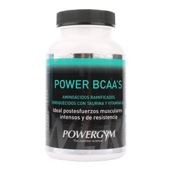 suplement POWERGYM POWER BCAA 120 kapsułek / RSPG-0034
