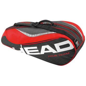 torba tenisowa HEAD TOUR TEAM COMBI / 283236 BK/RD