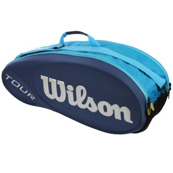 torba tenisowa WILSON TOUR MOLDED 6 PK